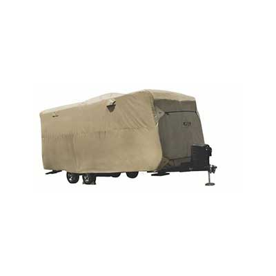 Travel Trailer Cover - ADCO Storage Lot All Climate Cover - 31'7