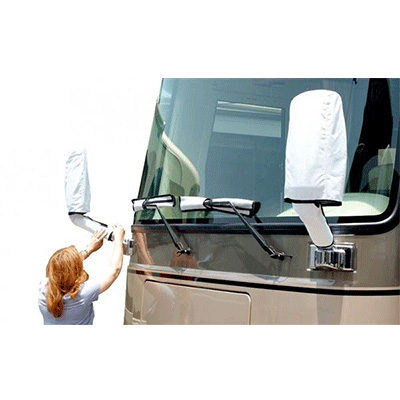 Motorhome Mirror Covers - ADCO - Includes Wiper Blade Covers - Tyvek