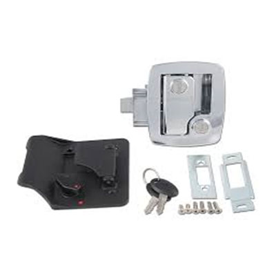 RV Door Latch - AP Products - Entrance - Bauer SCI Technology - Chrome