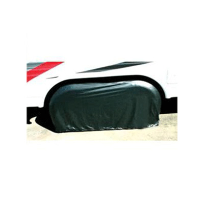 Tire Covers - ADCO - Two Axles - 27 To 29 Inch Tires - Black - 1 Pack
