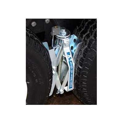 Wheel Chocks - BAL - Deluxe Tire Locking Chock - Ratchet Style - Steel - 1 Per Pack