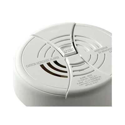 CO Detector - First Alert Battery Operated Surface Mount Carbon Monoxide Detector - White