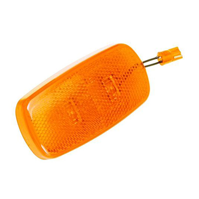 Side Marker Lights - Bargman 12V LED Side Marker Trailer Light - Amber