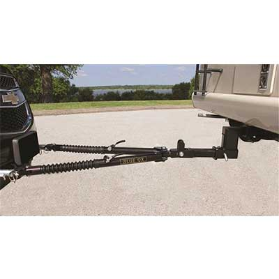 Tow Bar - Blue Ox Ascent Vehicle Tow Bar With Adjustable Legs 7500 Lbs