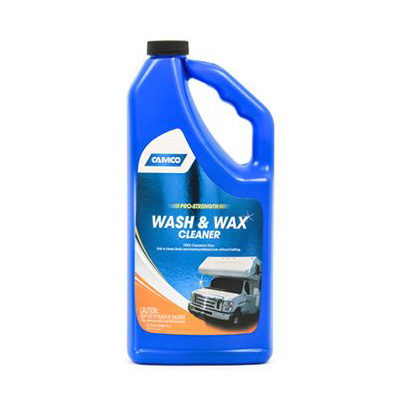 RV Wash And Wax - Camco Pro-Strength RV wash And Wax - 32 Ounce Bottle