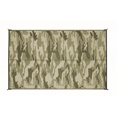 Camping Mats - Camco - Outdoor - 6 x 9 Feet - Camouflage