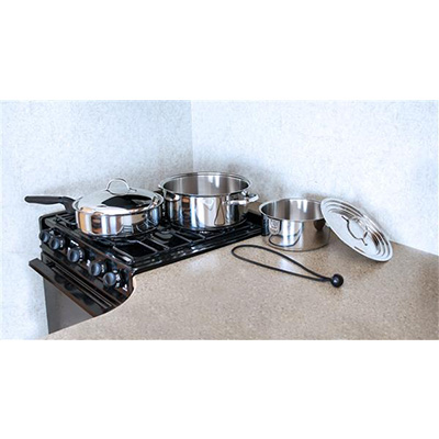 Pots And Pans - Camco 7 Pieces Nesting Stainless Steel Cookware Set