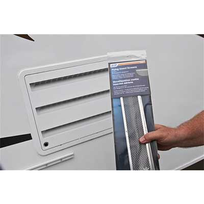RV Refrigerator Access Panel Insect Screens - Camco - Fits Dometic