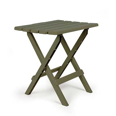 RV Table - Camco - Adirondack - Large Size - Sage