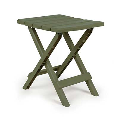 Tables - Camco Adirondack Small Plastic Table - Sage