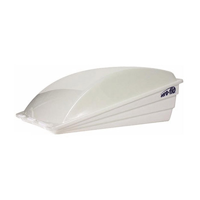 Roof Vent Cover - Camco Aero-Flo Exterior Roof Vent Cover - White