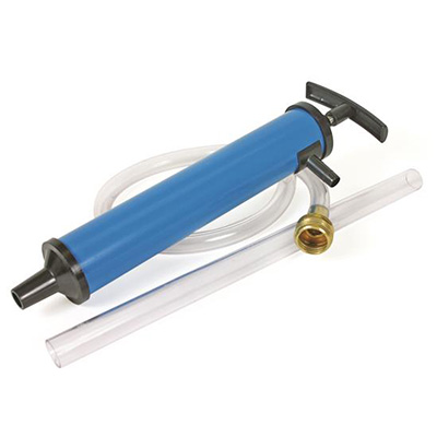 Winterizing Accessories - Camco Antifreeze Hand Pump With Connection Hose - Blue