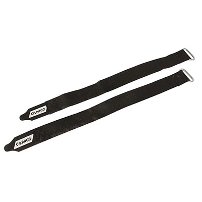 Awning Straps - Camco - Velcro - 12 Inch Length - 2 Per Pack