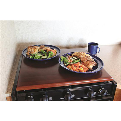 Range Cover - Silent Top Stove Top Cover - Bordeaux