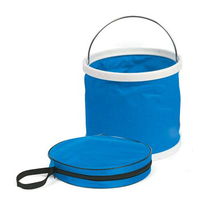 Buckets - Camco 3 Gallon Collapsible Bucket With Storage Bag