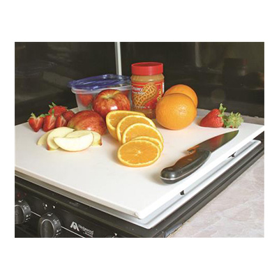 Range Cover - Decor-Mate Stove Top Cover - White