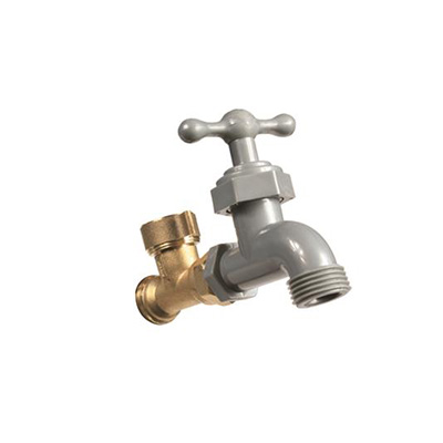 Water Faucet - Camco Water Diverter Faucet With Garden Hose Connection