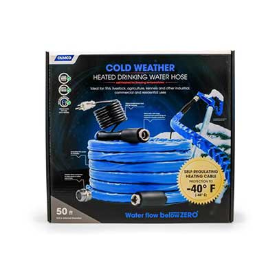 Heated Water Hose - Camco Heated Drinking Water Hose 50'L