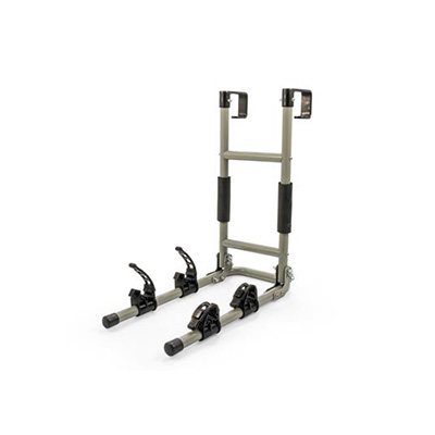 Bike Rack - Camco RV Ladder Mount Bike Rack Holds Up To 2 Bicycles