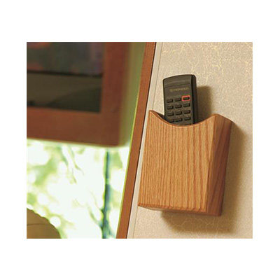 Remote Control Holder - Camco Oak Accents Wall Mount Remote Control Holder