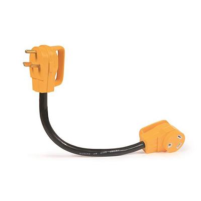 Power Cord Adapter - Power Grip Dogbone - 30A-M To 30A-F - 18