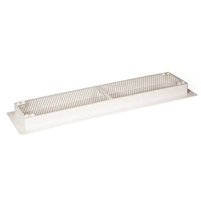 Refrigerator Roof Vent Base - Camco Universal-Fit Refrigerator Roof Vent Base - White