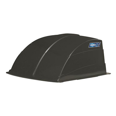 Roof Vent Cover - Camco Aerodynamic Exterior Roof Vent Cover - Black