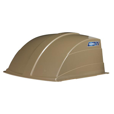 RV Roof Vent Cover - Camco Exterior Roof Vent Cover Champagne
