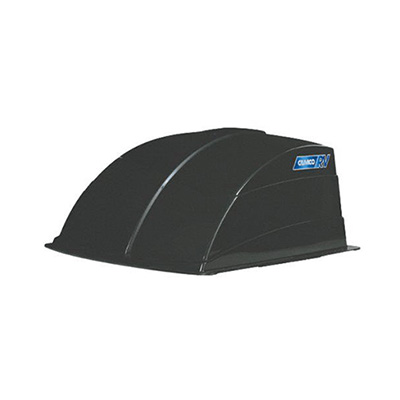 Roof Vent Cover - Camco Aerodynamic Exterior Roof Vent Cover - Smoke
