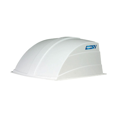 Roof Vent Cover - Camco Aerodynamic Exterior Roof Vent Cover - White