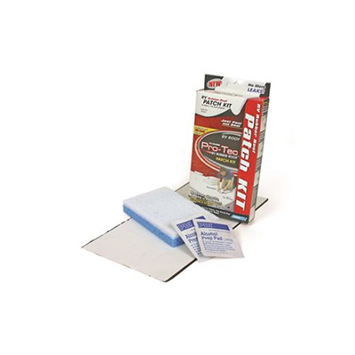 RV Roof Repair Patch - Camco - PRO-TEC - Rubber Roof - Peel and Seal