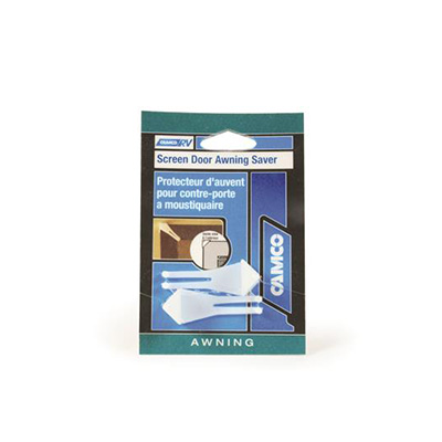 Screen Door Awning Saver - Camco - Corner Guards - 2 Per Pack