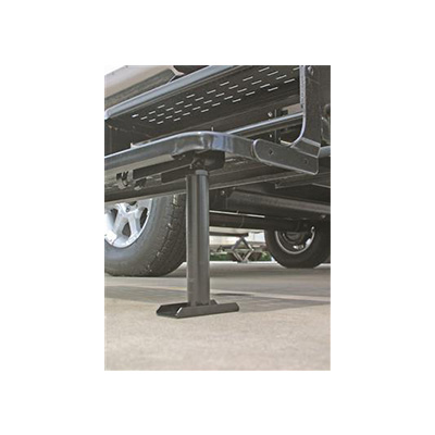 Step Supports - Camco Self-Stor Fixed-Mount Adjustable Step Brace - 8-1/2
