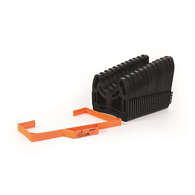Sewer Hose Accessories - Camco Sidewinder Sewer Hose Support - 20'L - Black