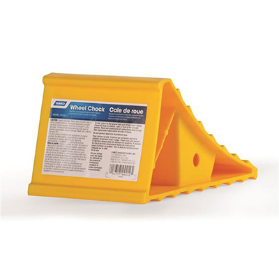 Wheel Chocks - Camco Small-Size Plastic Wheel Chocks - 1 Per Pack