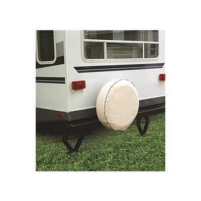 Tire Covers - Camco - Spare Wheel - 25-1/2 Inch - Colonial White