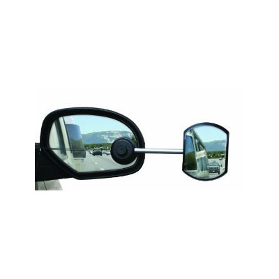 Tow Mirrors - Camco Tow-N-See Convex Passenger Side Towing Mirror - 1 Per Pack