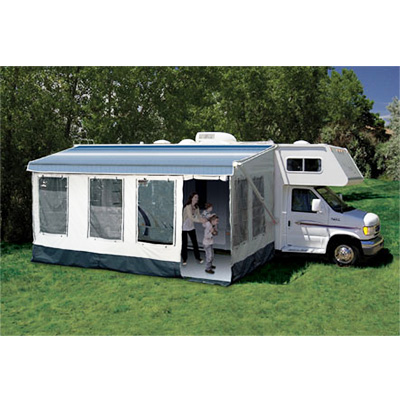 Screen Rooms - Carefree Buena Vista Screen Room - Fits Awning 12' To 13'