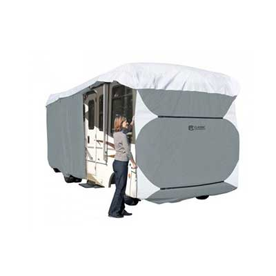 Class A Motorhome Cover - PolyPRO 3 Deluxe All Season Cover With Storage Bag 24'L To 28'L
