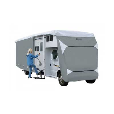 Class C Motorhome Cover - PolyPRO 3 Deluxe All Season Cover With Storage Bag - 23'L To 26'L