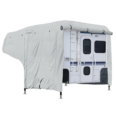 Truck Camper Cover - PolyPRO 3 Deluxe All Season Cover With Storage Bag - 8' To 10'