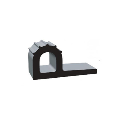RV Seals - Clean Seal P Ribbed EPDM With Adhesive Tape 2