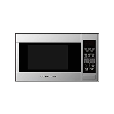 RV Microwave Oven - Contoure - Convection Heat - 1000W - Turntable - Stainless Steel