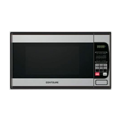 Microwave Oven - Contoure 900W Microwave With Glass Turntable - Stainless Steel