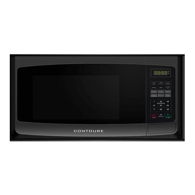 Microwave Oven - Contoure Microwave Oven With Glass Turntable 900W Black