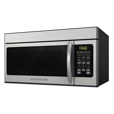 RV Microwave Oven - Contoure - Convection Heat/Range Hood - 900W - Stainless Steel