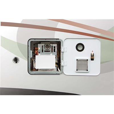 Tankless Water Heater - Dehco 42000 Btu On-Demand Propane Water Heater With Access Door
