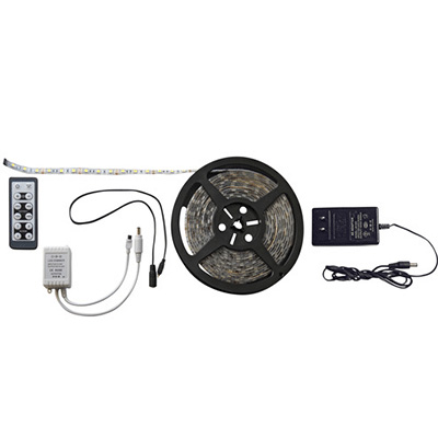 Strip Lights - Diamond Group Remote Control LED Strip Light - 16'L - White