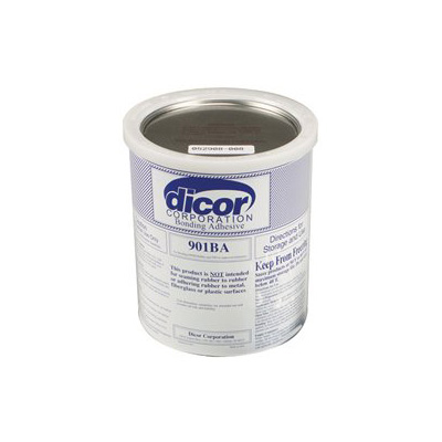 Rubber Roof Glue - Dicor Water Based Acrylic Bonding Adhesive - 1 Gallon
