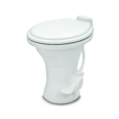 RV Toilet - 310 Series - Pedal Flush - No Hand Sprayer - 18